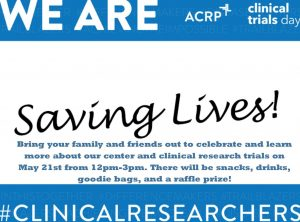 clinical trials day tv